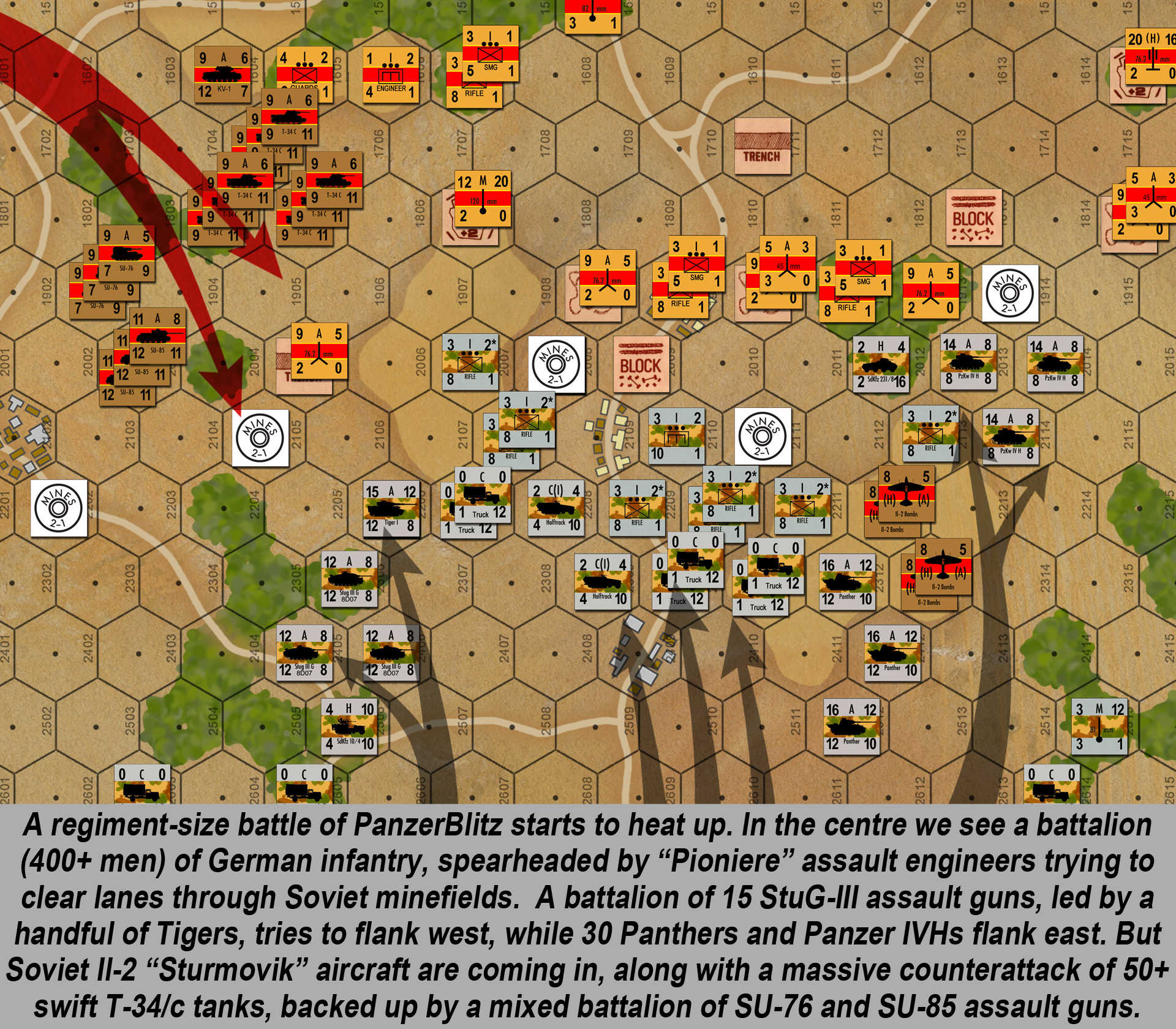 Wargaming Kursk Part One J