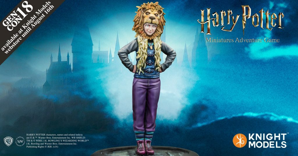 Luna Lovegood - Knight Models