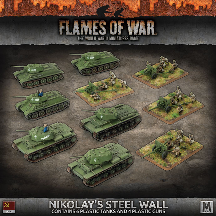 Nikolay's Steel Wall - Flames Of War