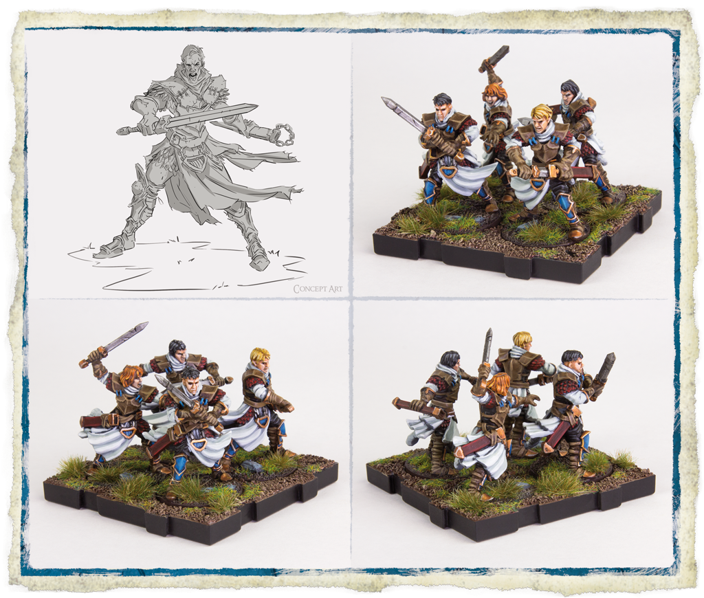 Outland Scouts (Models) - RuneWars
