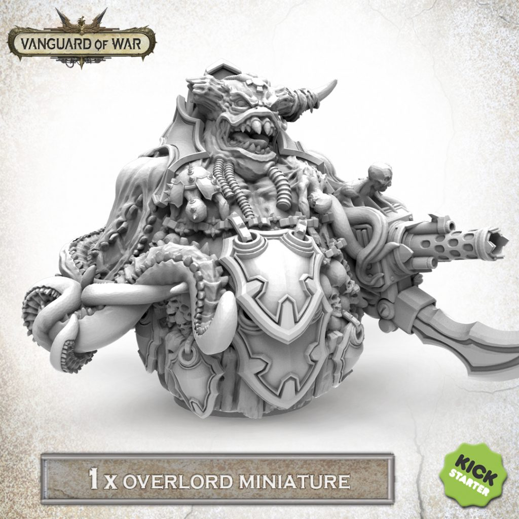 Overlord Miniature - Vanguard Of War