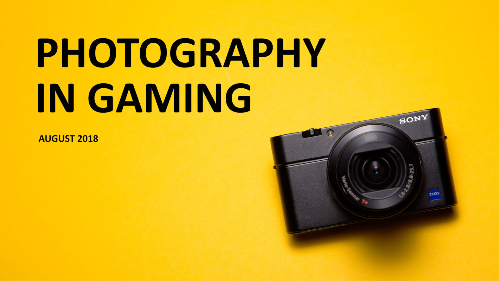 Photography in Gaming