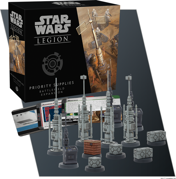 Priority Supplies - Star Wars Legion