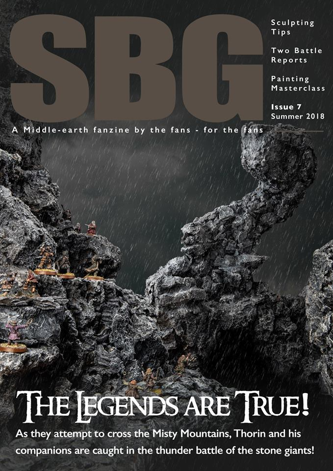 SBG Magazine Issue 7 Cover