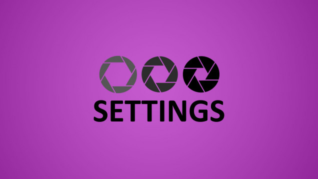 Let's Look at Settings