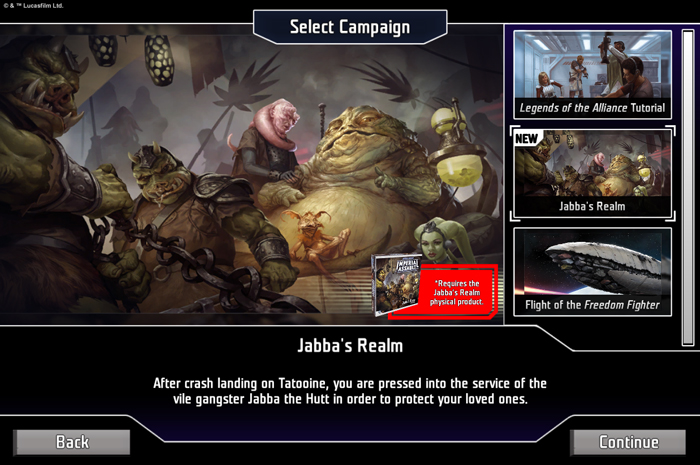 Star Wars Imperial Assault Jabbas Palace - FFG