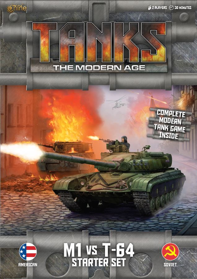 Starter Set - TANKS The Modern Age