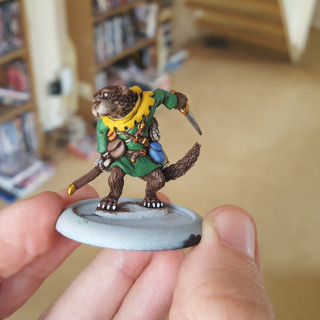 Painting The Otter Ranger - Step By Step
