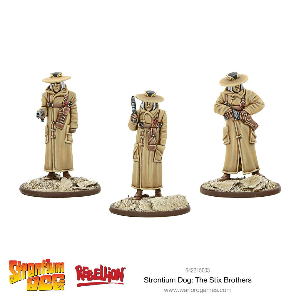 Strontium Dog The Stix Brothers - Warlord Games