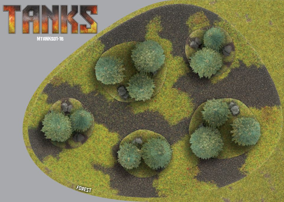 Terrain Card TANKS TREES