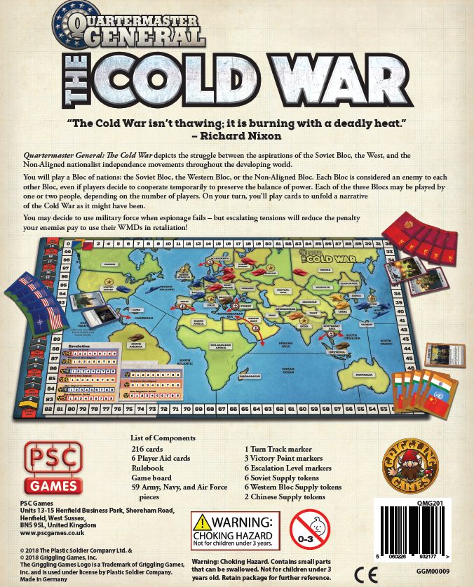 The Cold War (Rear) - PSC Games
