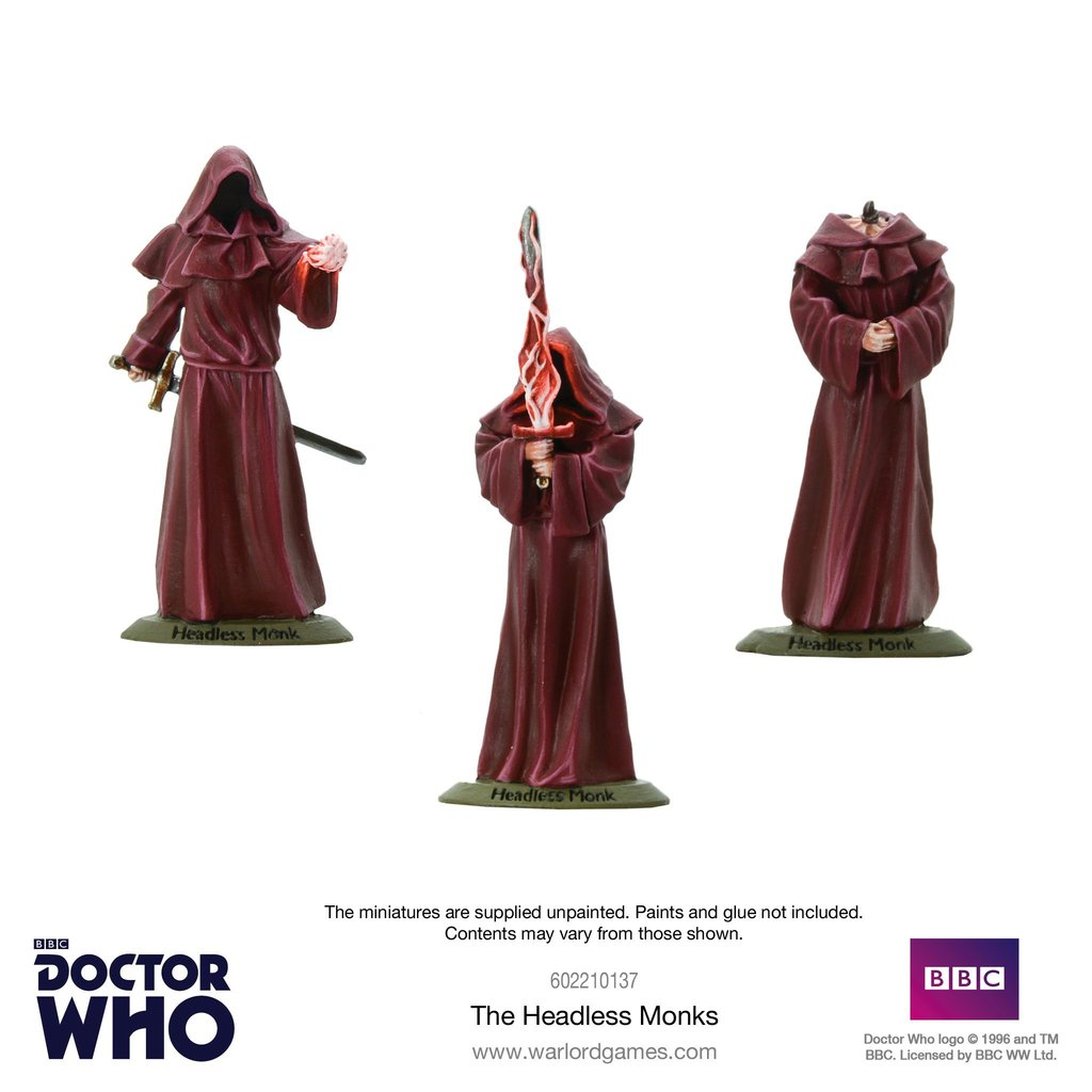 The Headless Monks - Doctor Who Into The Time Vortex