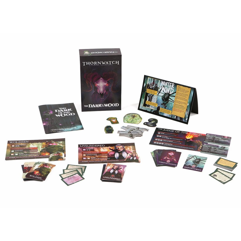 Thornwatch The Dark of the Wood Expansion (Contents) - Penny Arcade
