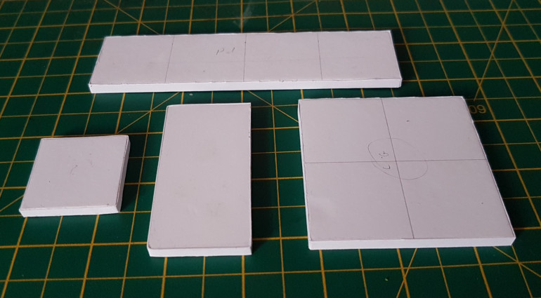 Step 1: The raw tiles