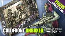 Operation Coldfront: Unboxing New Infinity Battle Pack (GENCON Bundle)