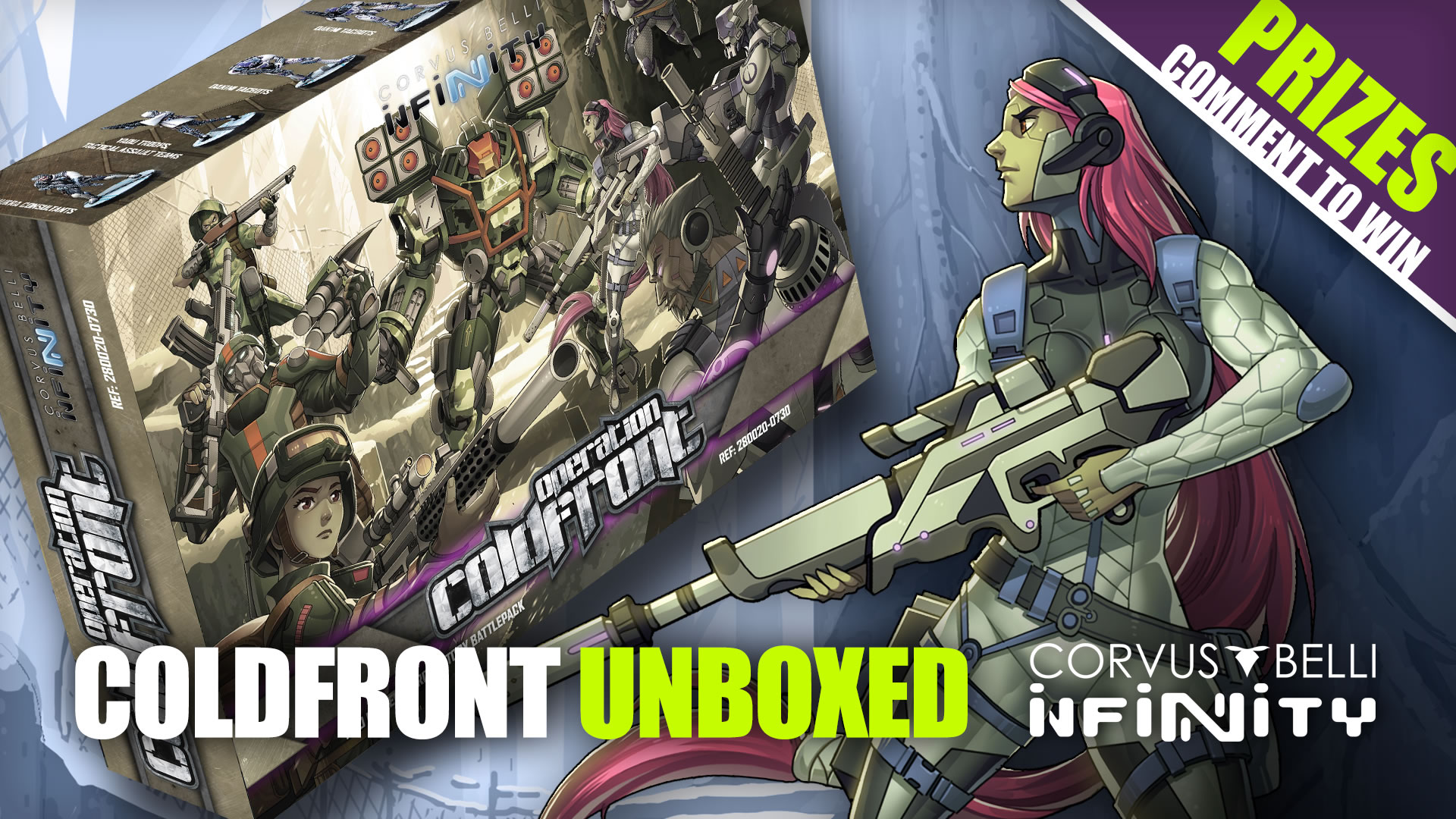 Unboxing Operation Coldfront Battle Pack