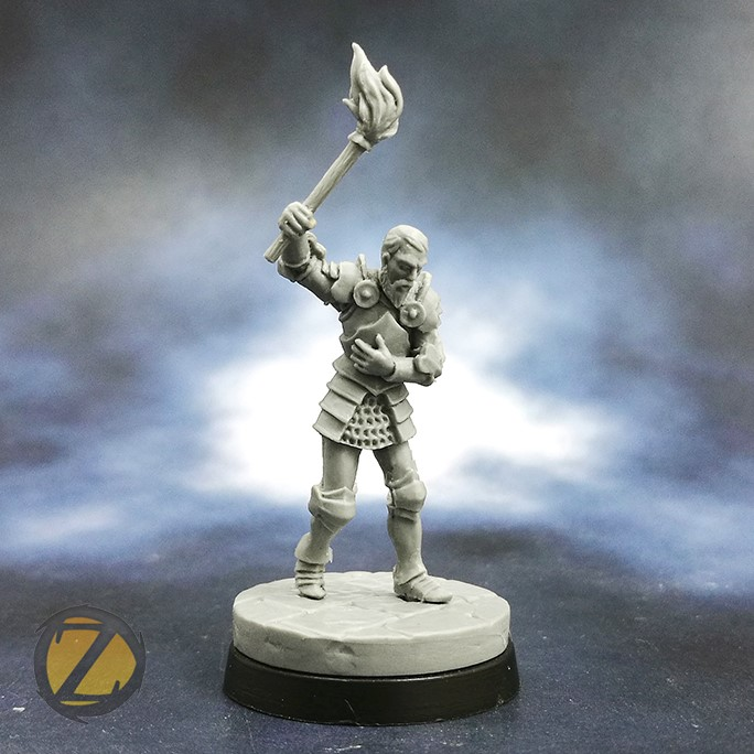 Unlucky Sir Roger (Escaped) - Zealot Miniatures