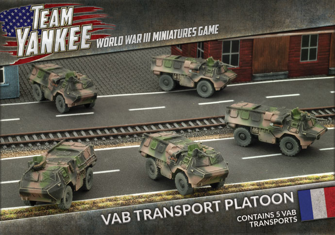 VAB Transport Platoon - Team Yankee