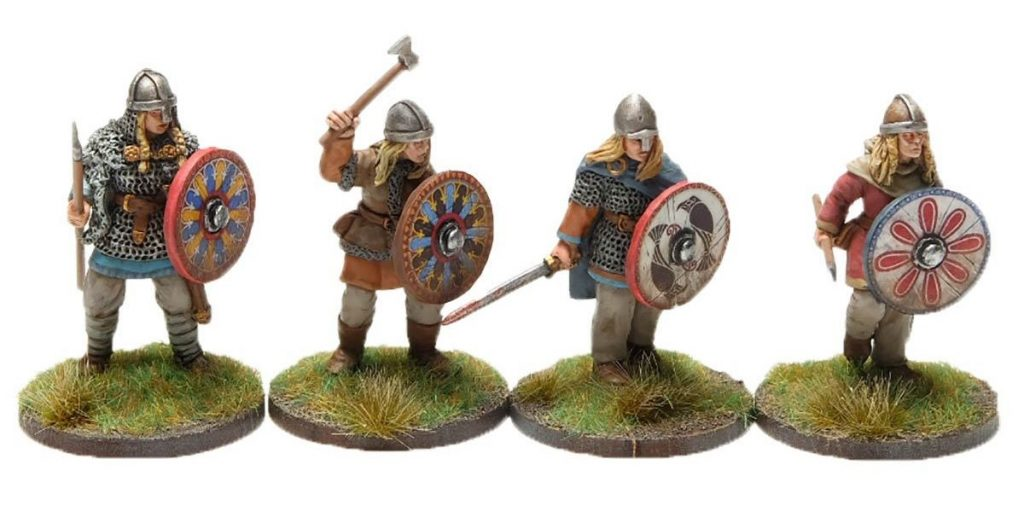 Viking Shieldmaidens - Footsore Miniatures
