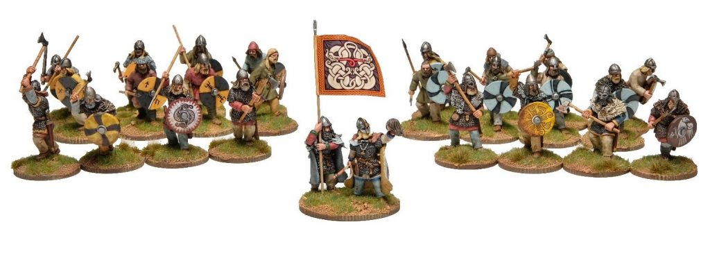 Viking Skirmish Warband SAGA -Footsore Miniatures