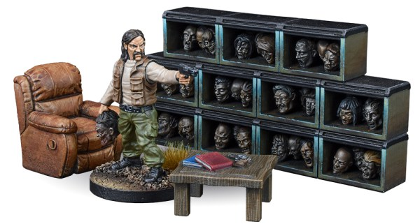 Walking Dead Trophy Room - Mantic Games