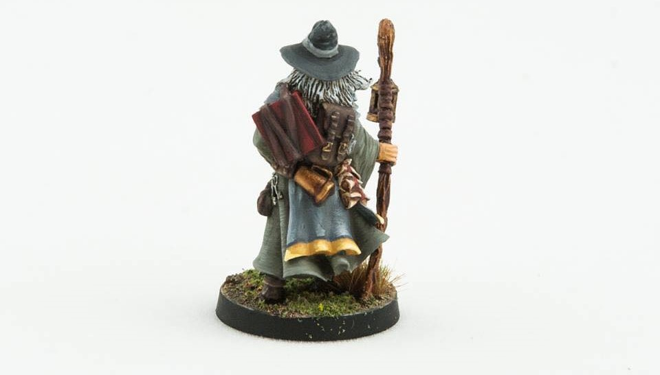 Wandering Wizard (Rear) - Freeblades