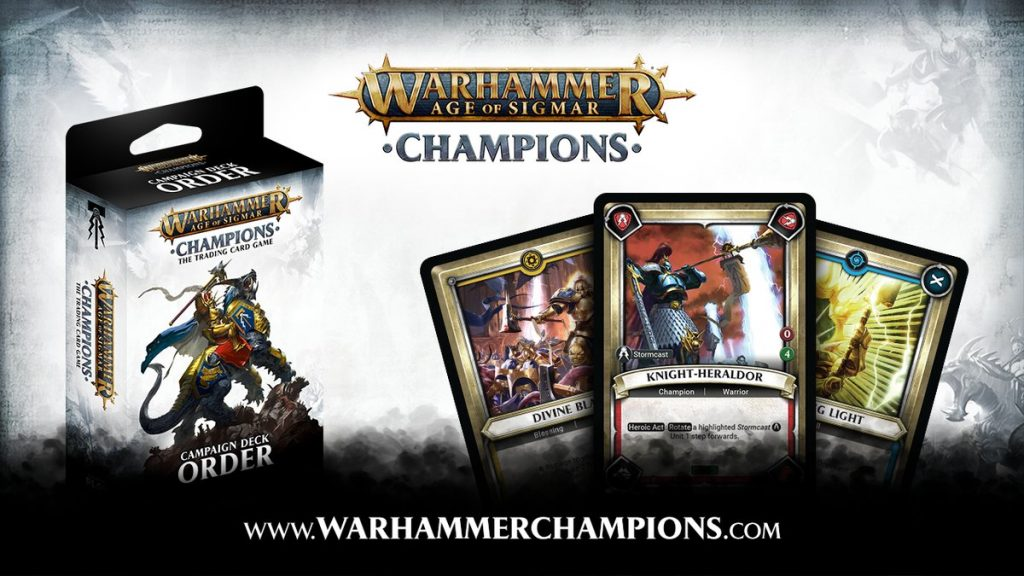 Warhammer Age Of Sigmar Champions - PlayFusion