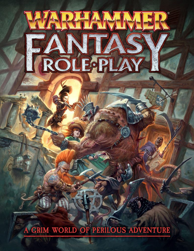 Warhammer Fantasy Role Play - Cubicle 7
