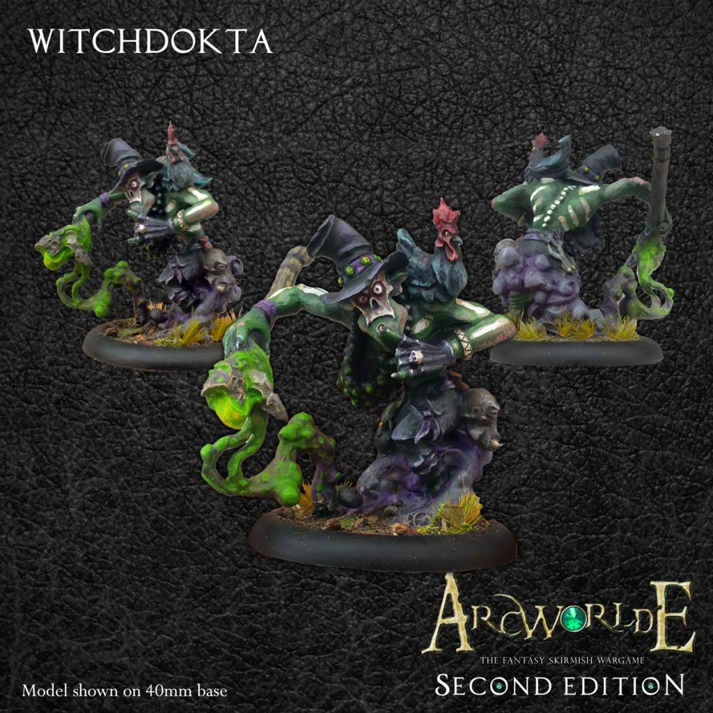 Witchdokta - Warploque Miniatures