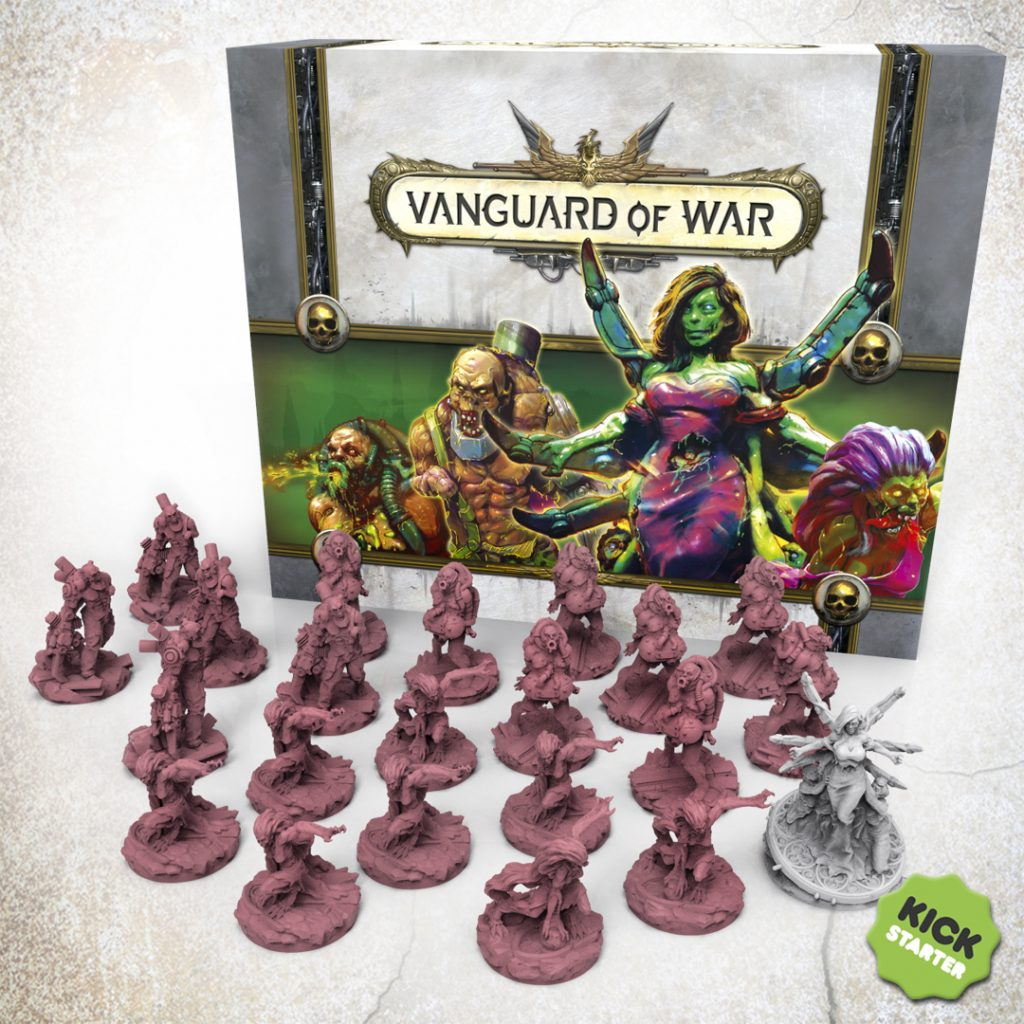 Zombie Figures & Boss - Vanguard Of War