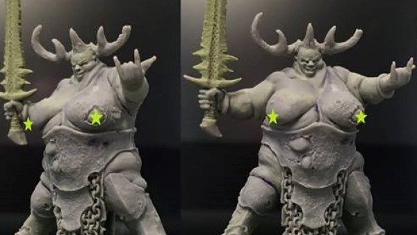 A Wild New Warlord Previewed By Hasslefree Miniatures [NSFW]