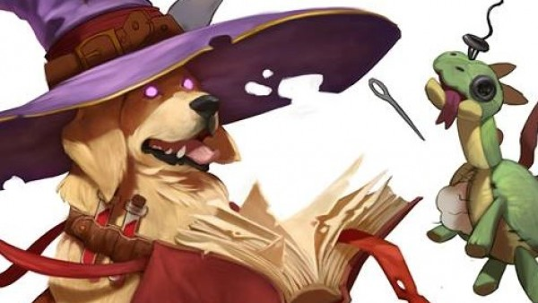 Watch Out For PaintingPolygon's Dungeons & Doggies Kickstarter!