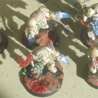 Block 1: 10 Deathwing Terminators + Watcher in the Dark