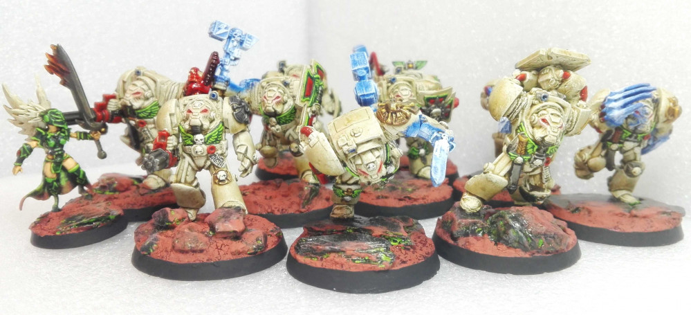 500p Challenge: 40k Deathwing Terminators by Bothi