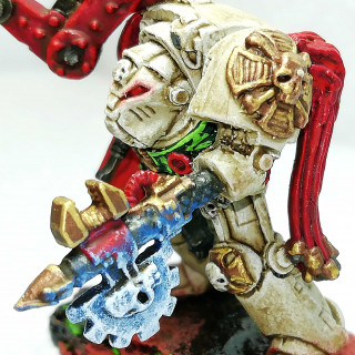 Block 3: Grand Master, Techmarine and 2 Dreadnoughts