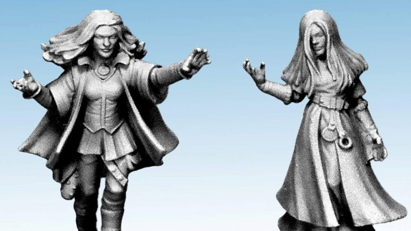 North Star Look Ahead To Frostgrave Female Figures & Oathmark Plastics