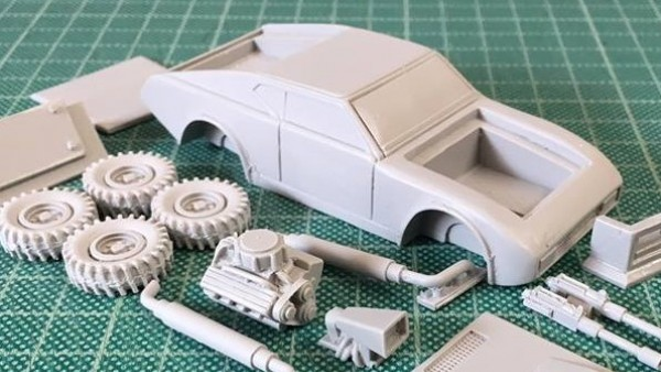 Crooked Dice Preview Interceptor Car Kit Coming In August