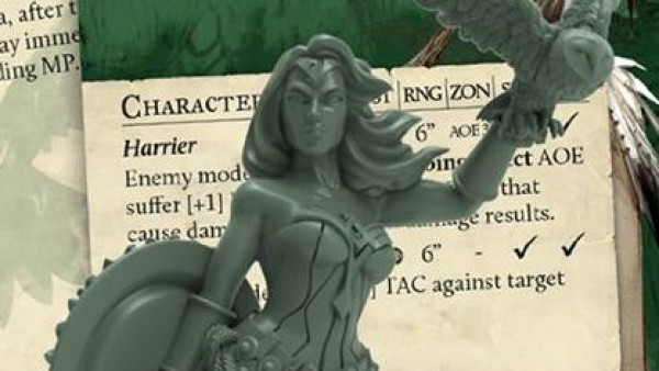 Steamforged Show Off Limited Edition Minerva Model For Guild Ball!