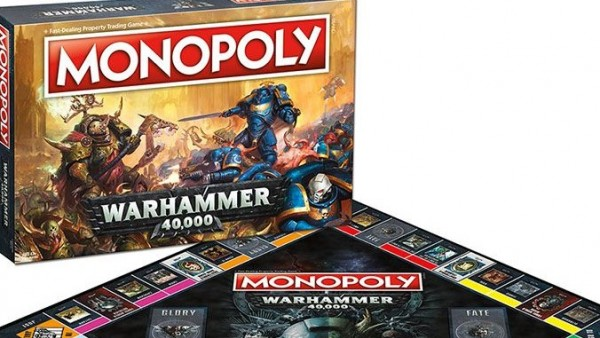 Monopoly: Warhammer 40,000 Is Now A Thing…Grimdark Banking At Its Finest