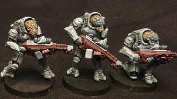 Khurasan Test The Waters For New 28mm Sci-Fi Plastic Mutants
