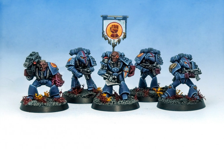 Crimson Fists Squad Onan