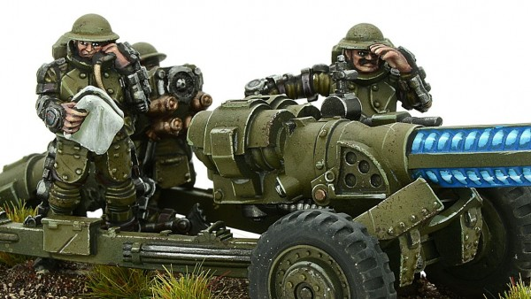 Warlord Tinker With Weird World War Artillery For Konflikt '47