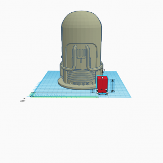 An example of a basic 3D model to printer to paint
