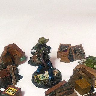Walkers and loot tokens