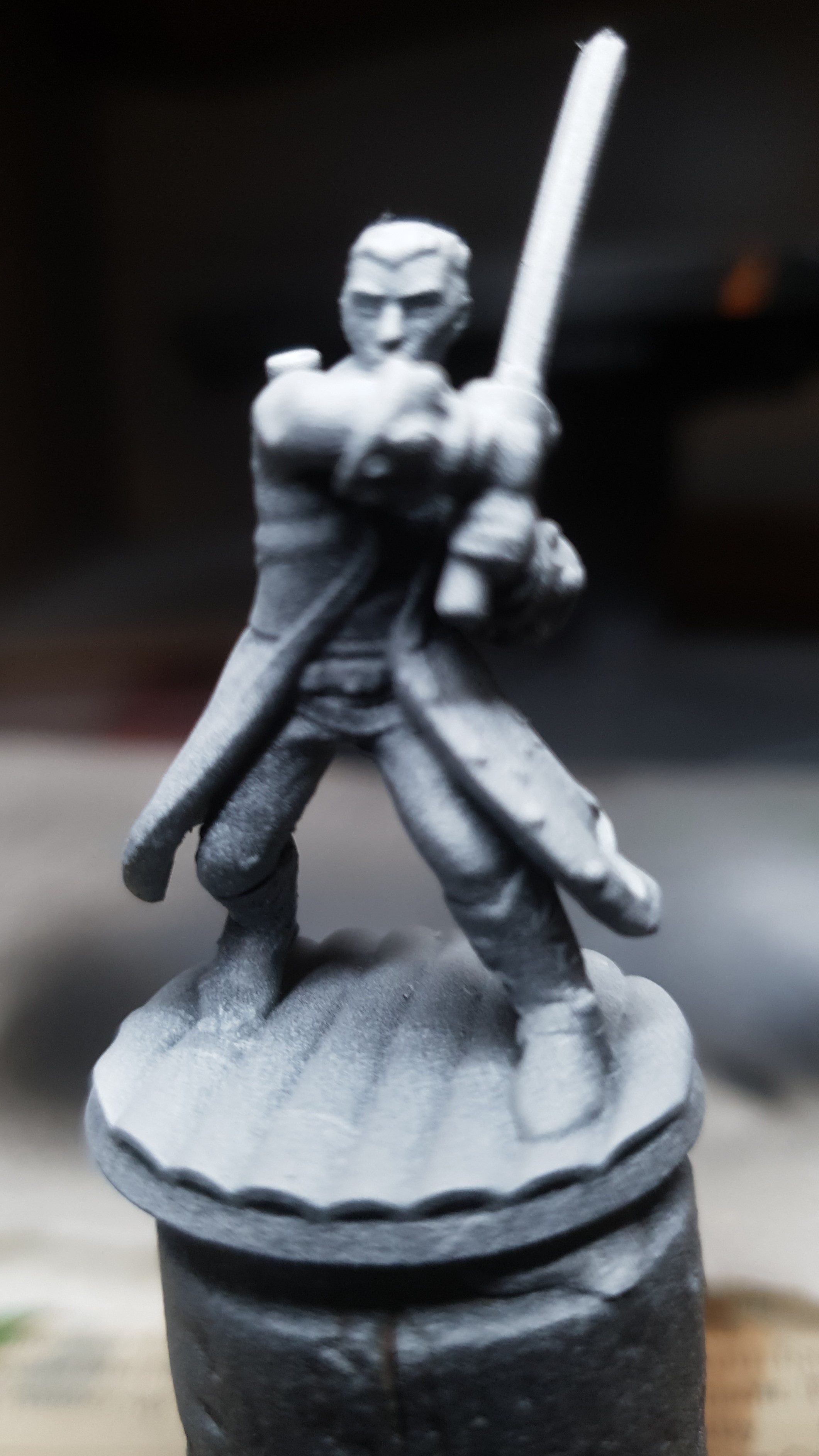 Part 5 : Priming the Miniatures, plus New Character Designs