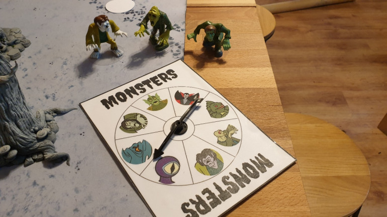 Prepare your Monsters and the random Monster Selector