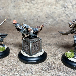 The finished Infernal Investigators! Some of my favourite models in the range