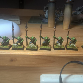 Started on some old models from the Warhammer Quest box set