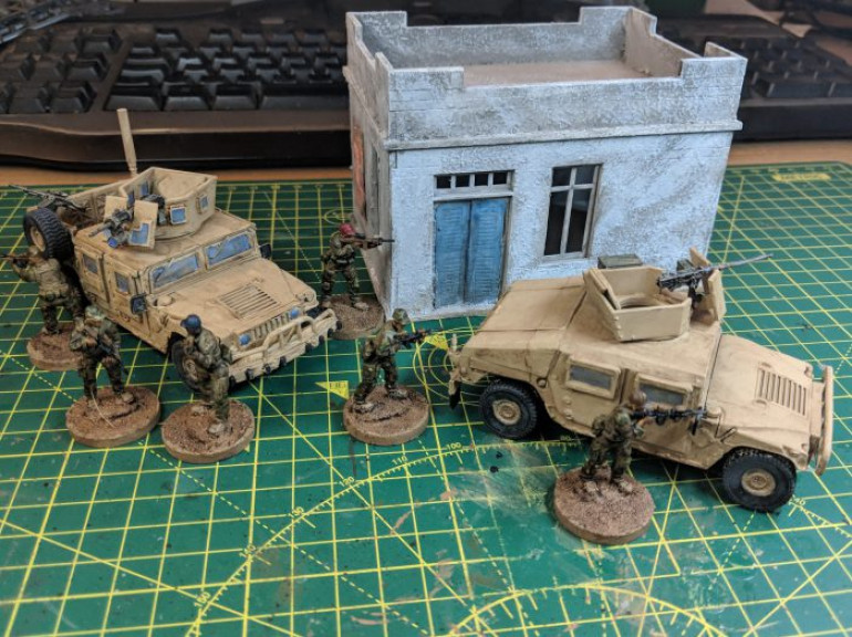 PROJECT HUMVEE – STOWAGE AND PAINTING