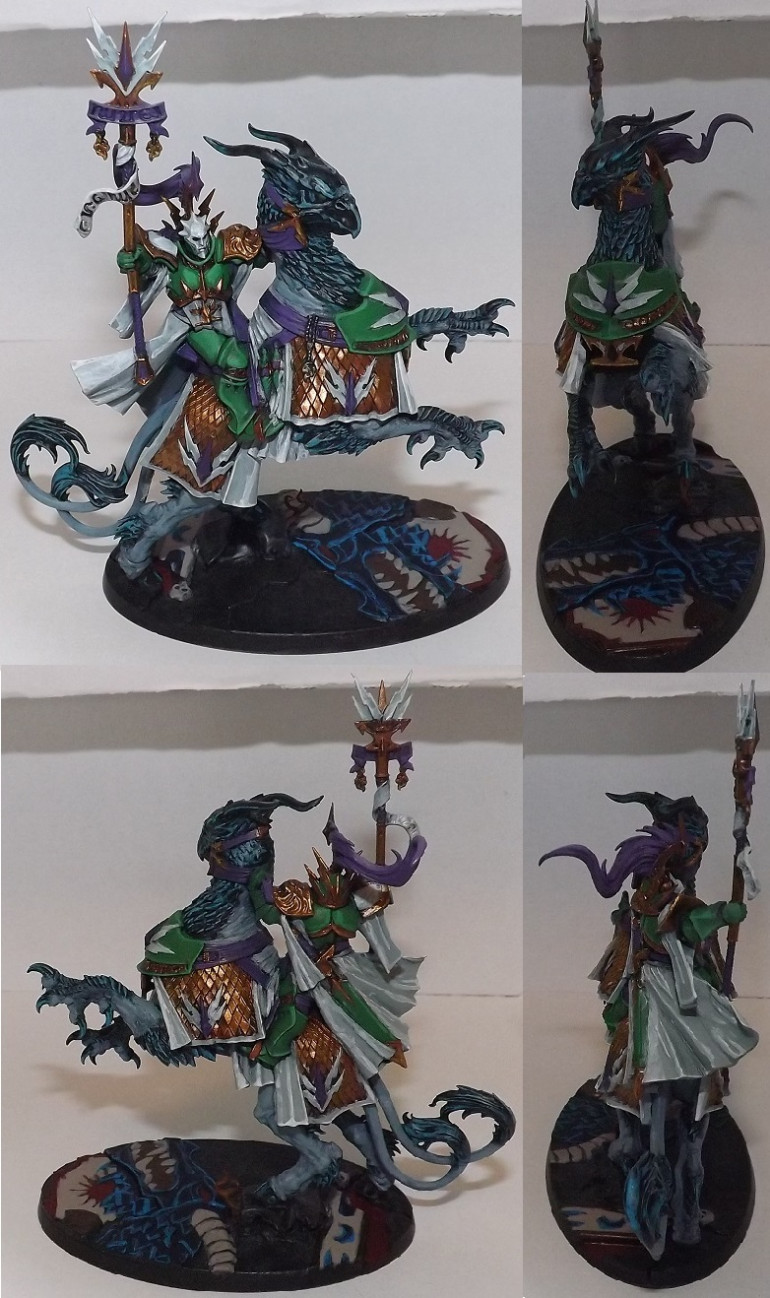 Lord Arcanum with highlights